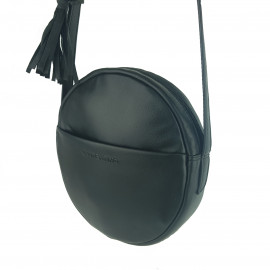 Full Grain Leather Round Bag