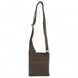 Leather Craft Australia High Quality Leather Cross Body Bag-CR Crackle