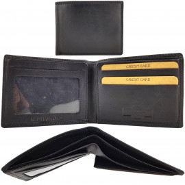 RFID Protected Slimline Leather Wallet