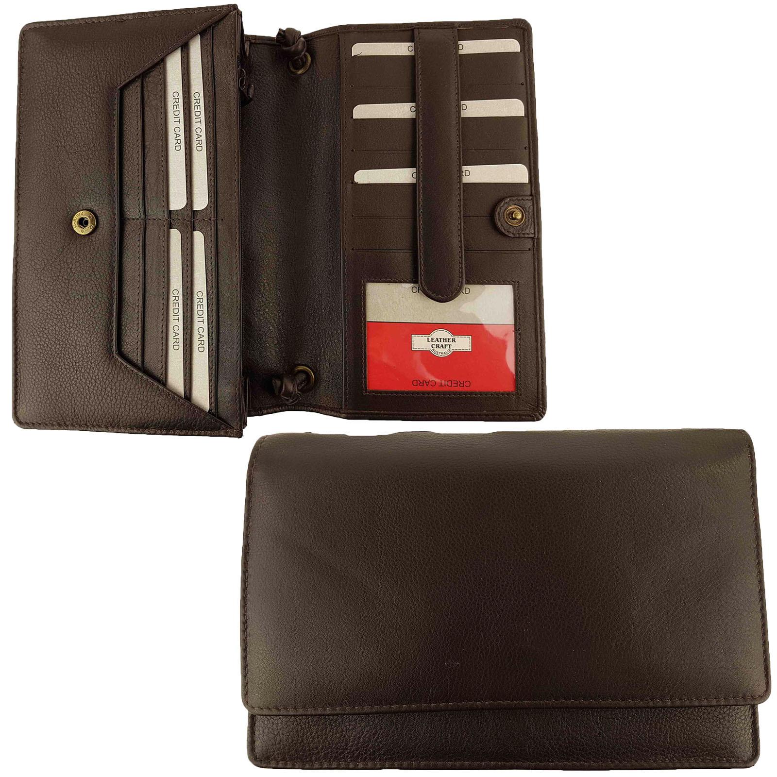Brown Full Grain Leather Bag
