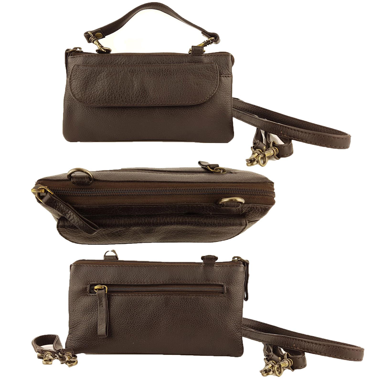 Brown Leather Craft Organizer
