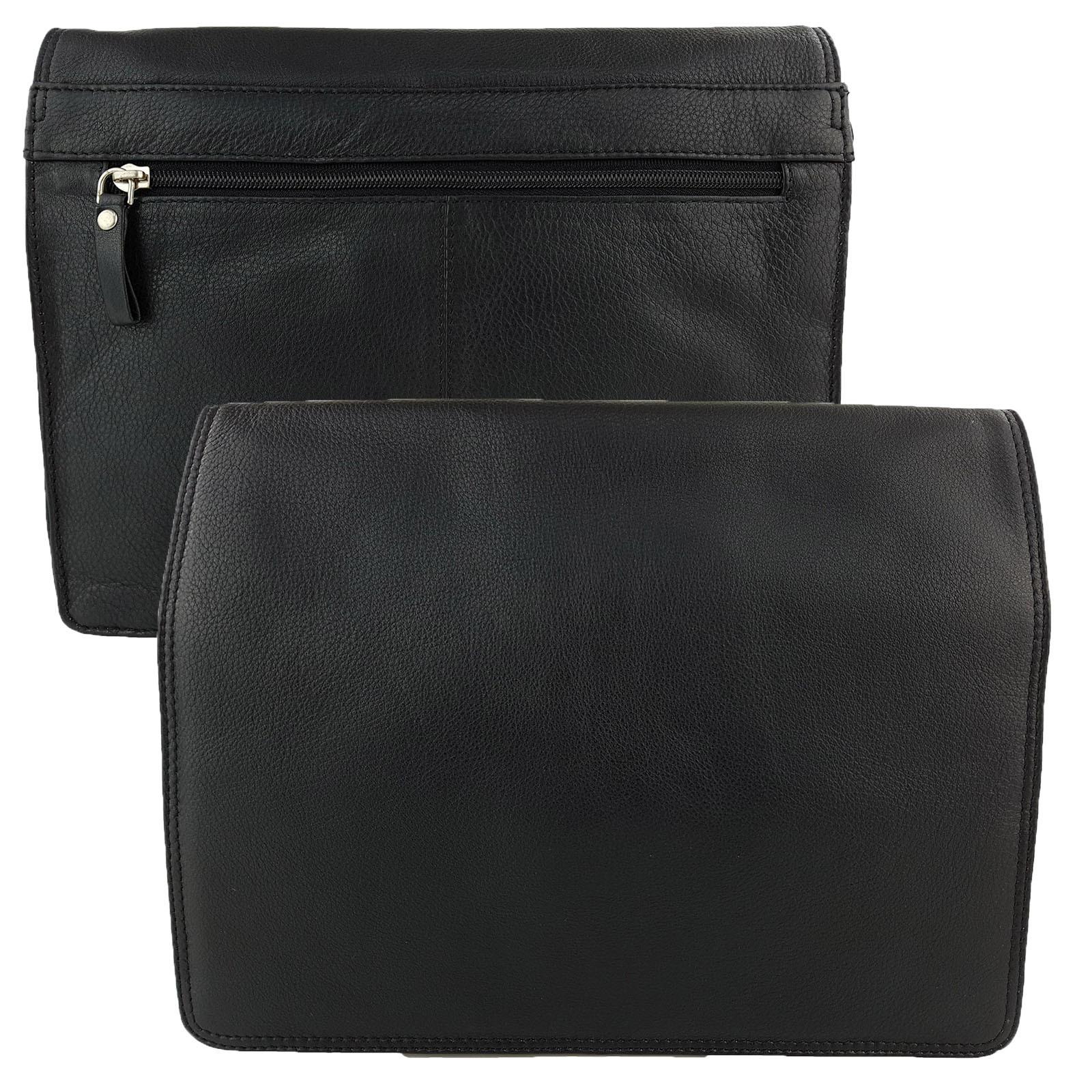 Black Genuine Leather Shoulder Bag