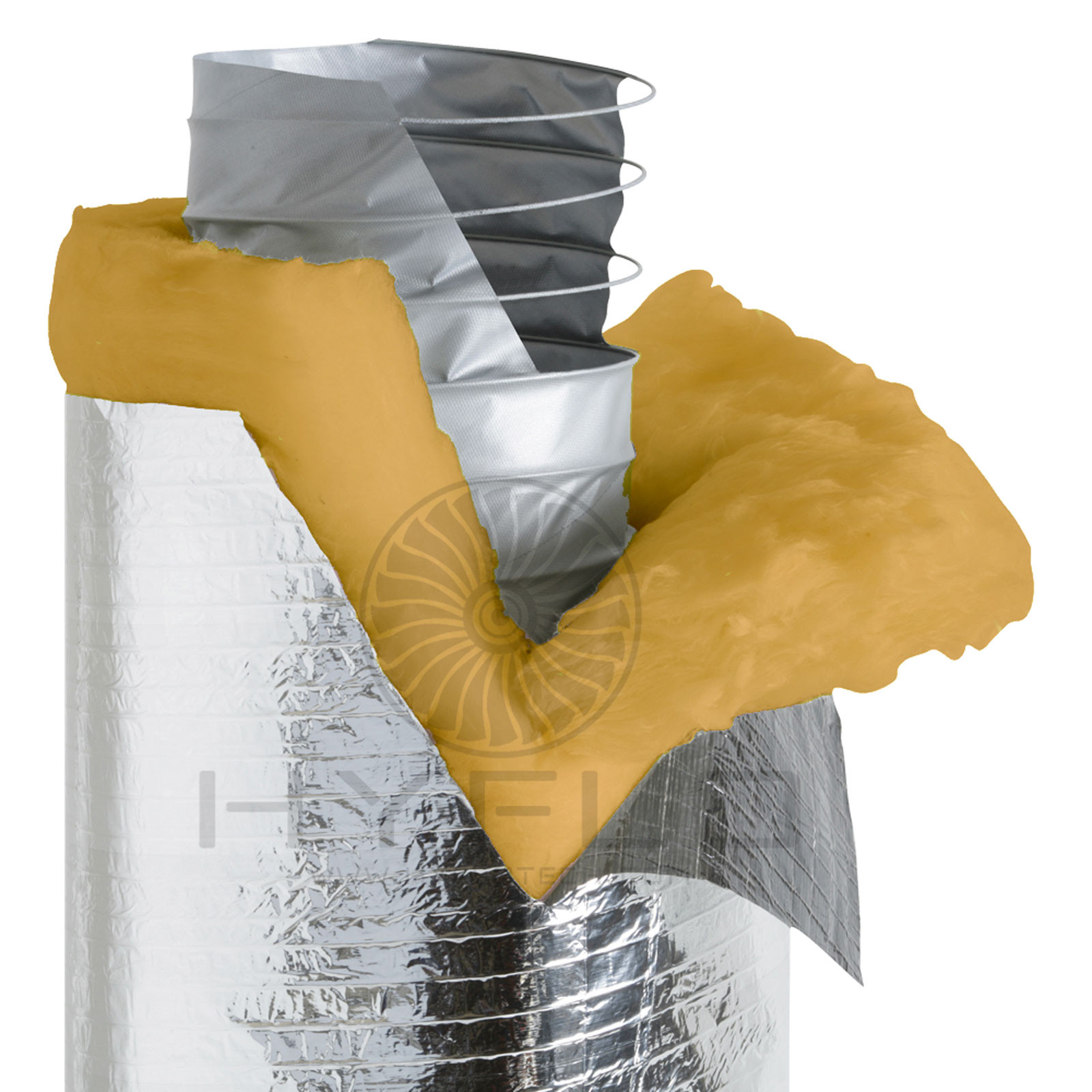 HyFlo Insulated HVAC Ducting R1.0