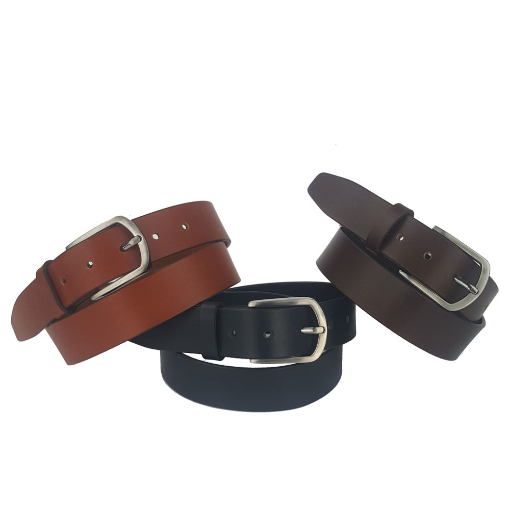 35mm Full Grain Cowhide Leather Belt