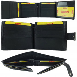 Mens Sheep Leather Wallet RFID PROTECTED