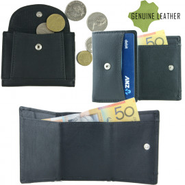 Tri-fold Mens Leather Wallet