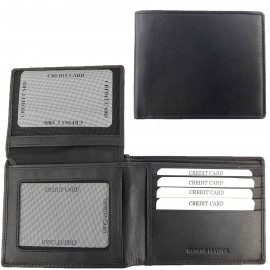 Studio Milano Mens Cowhide Leather Wallet