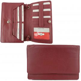 Red Full Grain Leather Bag