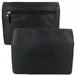 Black Genuine Leather Shoulder Bag