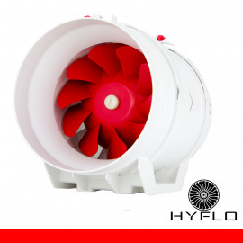 HYFLO Boost 8 Inch / 200mm Inline Mixed Flow Fan Aircon Booster Fan