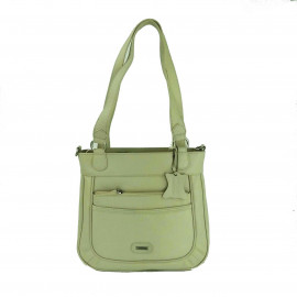 1653 Womens Leather bag-Off-White