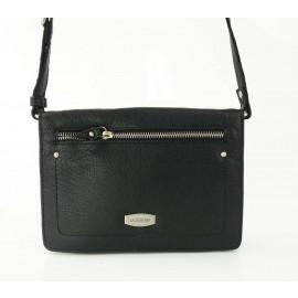 RA49 SOFT LEATHER WOMEN'S BAG-Black