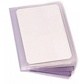 12 Sleeve Plastic Card Insert