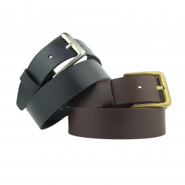 New Quality Genuine Leather 39mm Hunter Leather Oil-Pullup Belt