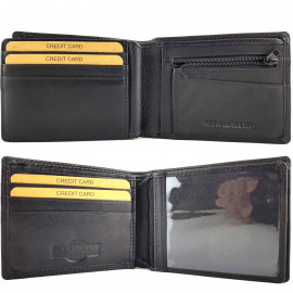 RFID Protected Genuine Leather Wallet