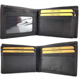 RFID Protected Genuine Leather Wallet