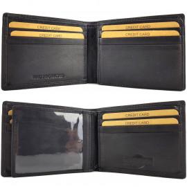 RFID Protected Slimline Leather Wallet