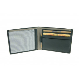 RFID Protected Mens Leather Wallet