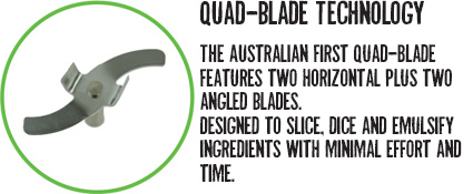 Quad Blade Technology